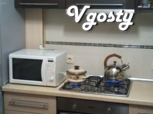 Comfortable apartment near the shopping center Oasis - Apartments for daily rent from owners - Vgosty