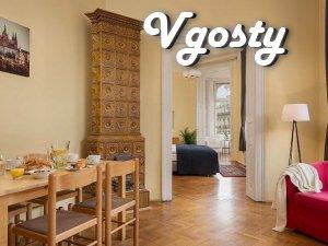 Просторная квартира (четыре комнаты) на большой площади города - Apartments for daily rent from owners - Vgosty