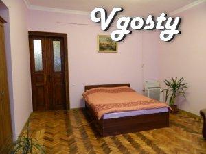 Квартира в центральній частині міста Медінститут - Apartments for daily rent from owners - Vgosty