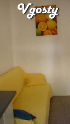 4 (5) people / One bedroom apartment on the ground - Apartments for daily rent from owners - Vgosty