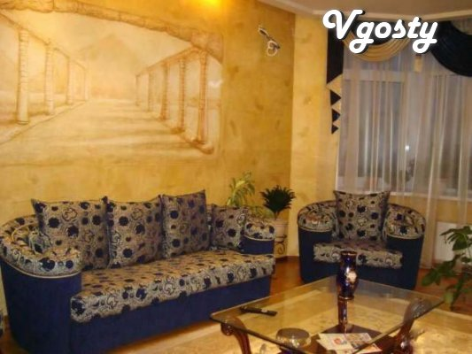 PERSONAL. Stylish 2-bedroom Euro-sq + WI-FI - Apartments for daily rent from owners - Vgosty