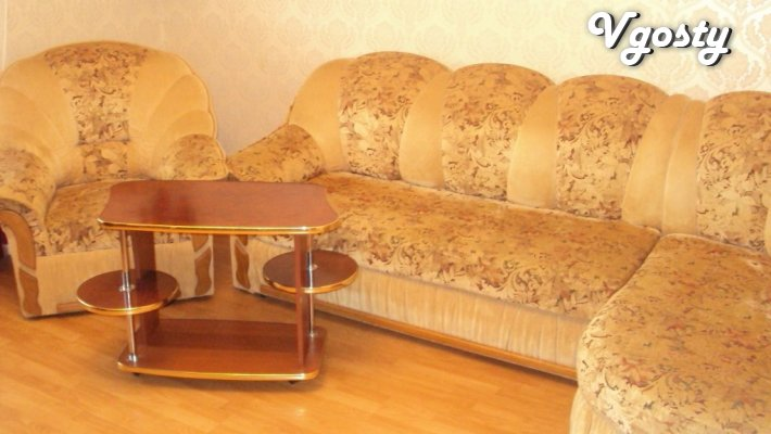 Center 3-com. apartment in the new building - Apartments for daily rent from owners - Vgosty