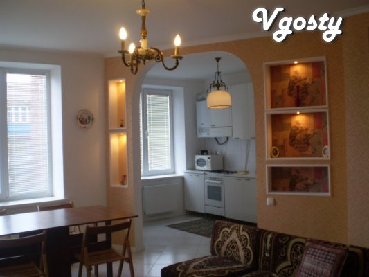 Center, Rent 2 BR apartment Eurostudio new building - Apartments for daily rent from owners - Vgosty