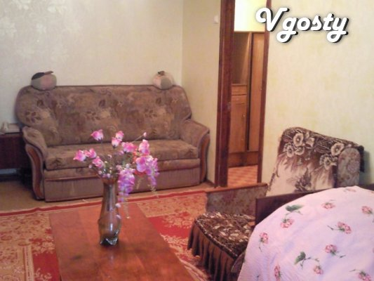 Rent an apartment in the center of Kremenchug - Apartments for daily rent from owners - Vgosty