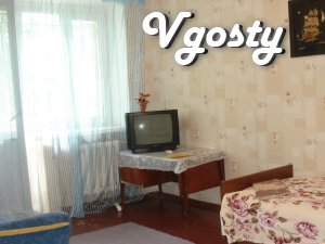 Announcement: 1 day - 180.00 UAH. 3 - 5 days - 170.00 UAH. 6 - - Apartments for daily rent from owners - Vgosty