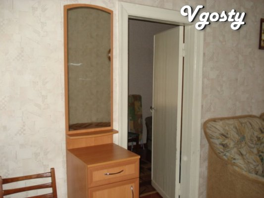 The apartment in the city center, 1st floor, near the main street - Apartments for daily rent from owners - Vgosty