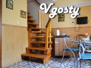 Rent 2-level cottage. Location - Apartments for daily rent from owners - Vgosty