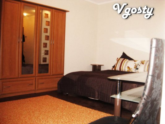 In the center of 1-room apartment, renovated, built-in - Apartments for daily rent from owners - Vgosty