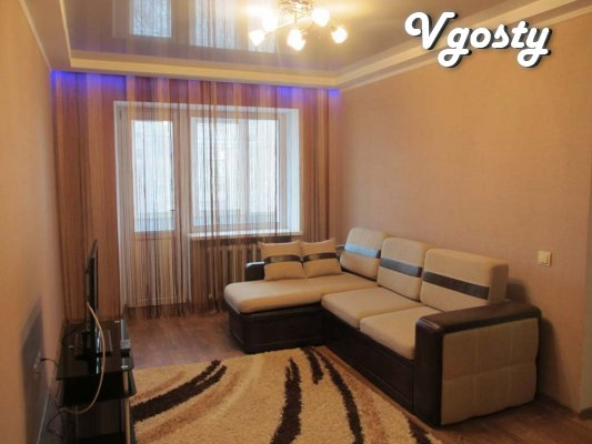 2 BR. evrokvartira in the center of Lugansk. - Apartments for daily rent from owners - Vgosty