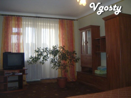 The apartment is in good repair and new furniture in the apartment - Apartments for daily rent from owners - Vgosty