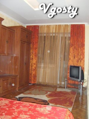 The apartment is renovated apartments in the city center. Along - Apartments for daily rent from owners - Vgosty