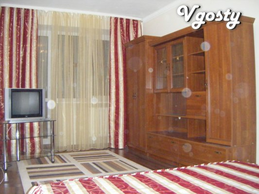 """The apartment is renovated near the cinema """"Ray"""" (""""Prom - Apartments for daily rent from owners - Vgosty"""