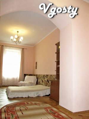 Spacious, bright apartment in the heart of the city - Apartments for daily rent from owners - Vgosty