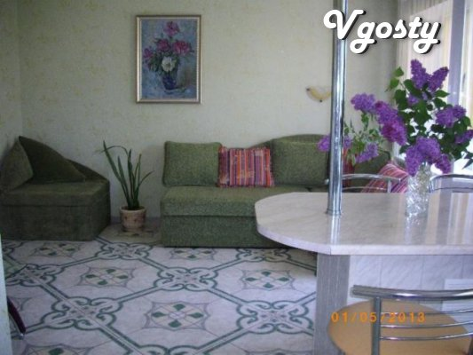 Spacious, cozy studio with an isolated bedroom, up to 6 people - Apartments for daily rent from owners - Vgosty