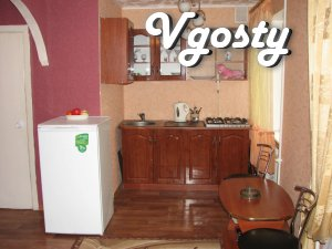 Euro renovation , new furniture , double bed , a boiler , - Apartments for daily rent from owners - Vgosty