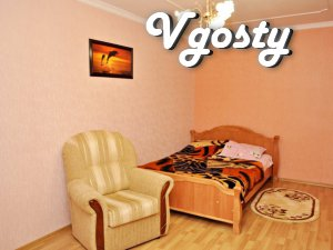 Clean apartment, the center - Apartments for daily rent from owners - Vgosty
