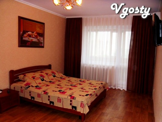 Comfortable apartment in the center, Wi-Fi - Apartments for daily rent from owners - Vgosty