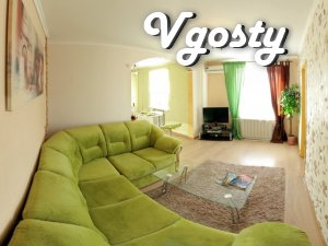 The apartment is designed in the center - Apartments for daily rent from owners - Vgosty