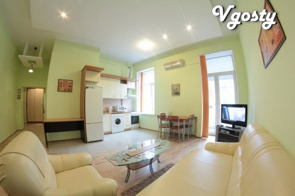 2-room apartment for rent studio in Poltava - Apartments for daily rent from owners - Vgosty