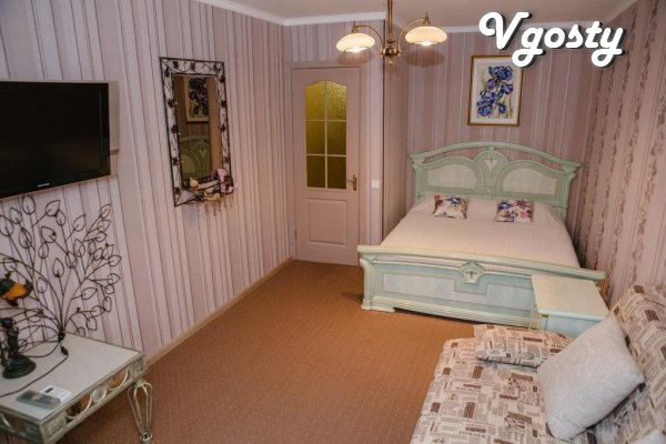 Luxury apartments in a new house, Cabinet garden - Apartments for daily rent from owners - Vgosty
