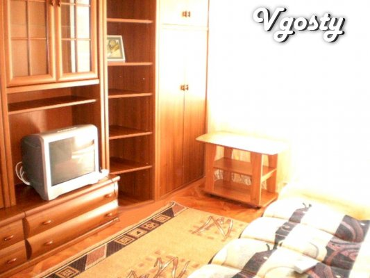 In the new house with a modern renovation - Apartments for daily rent from owners - Vgosty