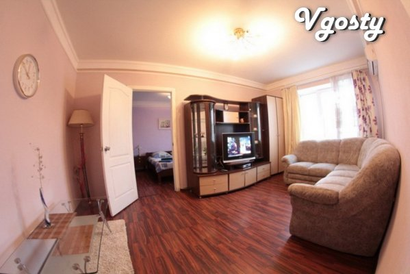 The very center of Poltava. 2 BR apartment for rent - Apartments for daily rent from owners - Vgosty