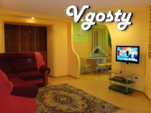 Daily 2-bedroom luxury apartment - Apartments for daily rent from owners - Vgosty