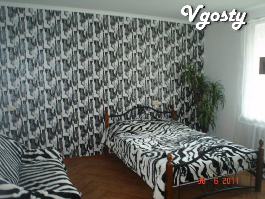 WI-FI with a new stylish remontom.TsENTR.LAVINA.Plyazh - Apartments for daily rent from owners - Vgosty