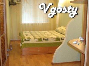 Подобово 2-к. квартира з євроремонтом - Квартири подобово без посередників - Vgosty