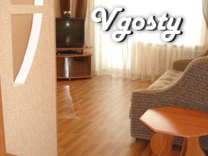 Daily 1 to. square-ra in the city center, renovation. Of. documents - Apartments for daily rent from owners - Vgosty