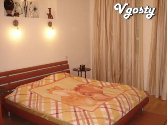 Very bright , spacious two -bedroom apartment with a VIP level - Apartments for daily rent from owners - Vgosty