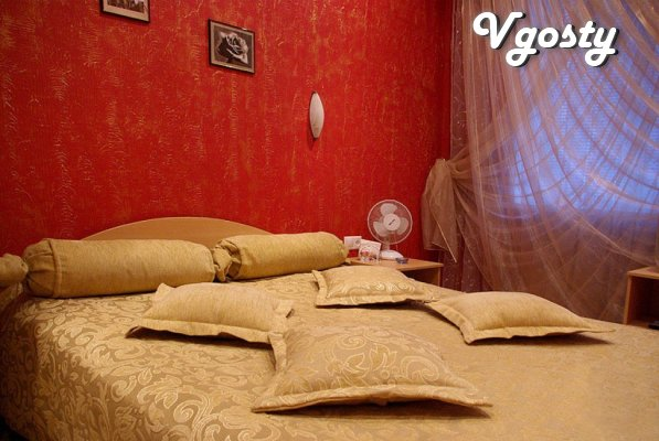 The apartment is located in the heart of the city.  The apartment has  - Apartments for daily rent from owners - Vgosty