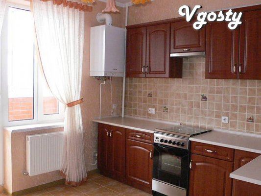 1 bedroom apartment in a new building, in a quiet area of the city, - Apartments for daily rent from owners - Vgosty