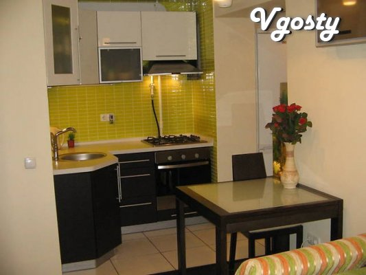 1-bedroom apartment in a new building near the center. - Apartments for daily rent from owners - Vgosty