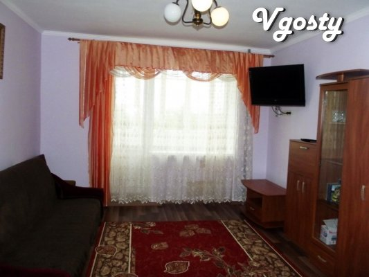 Nice new studio apartment in Truskavets on the contrary Rink - Apartments for daily rent from owners - Vgosty