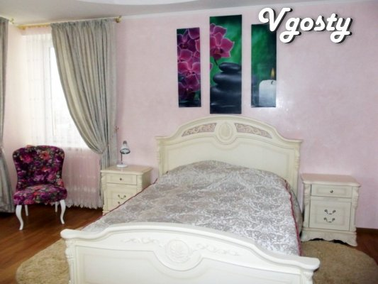 Vip-bedroom apartment at 35 ul.Banderi in Truskavets - Apartments for daily rent from owners - Vgosty