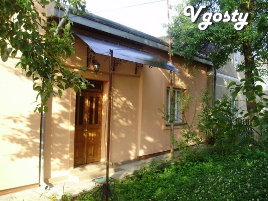 Rent a house with separate rooms outside the clinic in Truskavets Kozi - Apartments for daily rent from owners - Vgosty