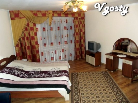I rent one bedroom apartment in the center of Truskavets - Apartments for daily rent from owners - Vgosty