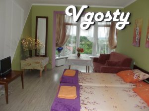 Rent a house in the center of elitny Truskavetc - Apartments for daily rent from owners - Vgosty