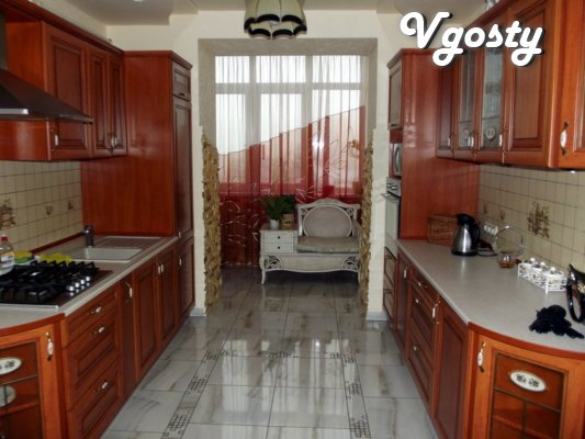VIP-apartment in elitny house in the center of Truskavets (700 m. To t - Apartments for daily rent from owners - Vgosty