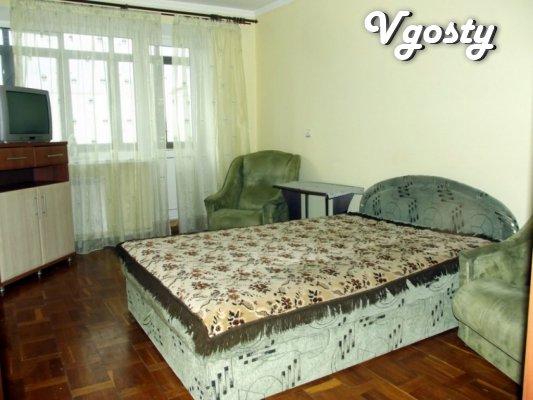 I rent one bedroom apartment with internet is the renovated near Rink - Apartments for daily rent from owners - Vgosty