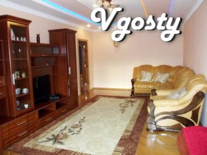 Elitny bedroom, 700m.ot well-room Truskavets - Apartments for daily rent from owners - Vgosty
