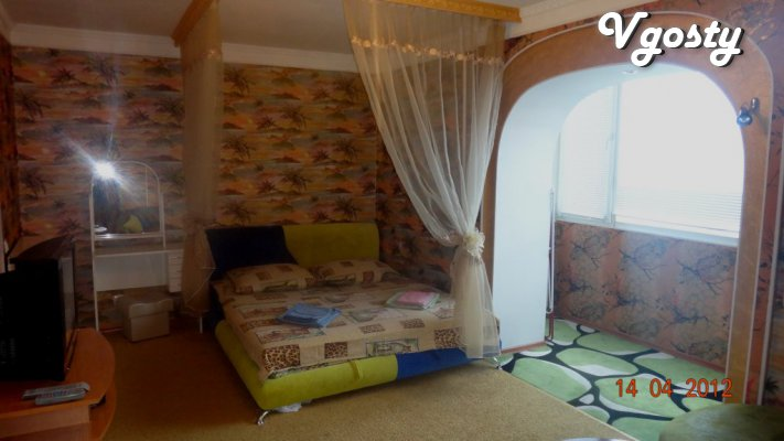 1-room studio - Apartments for daily rent from owners - Vgosty