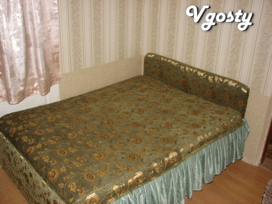 Двокімнатна квартира, центр р-н. парку ім. Леніна. - Квартири подобово без посередників - Vgosty