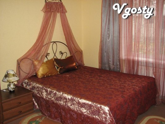 Four Luxury Apartments Center. 1 floor. Sleeping - Apartments for daily rent from owners - Vgosty