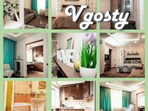 New comfortable stylish studio apartment in the center - Apartments for daily rent from owners - Vgosty