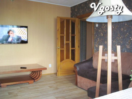 Rent four-square-ra in the center with Wi-Fi - Apartments for daily rent from owners - Vgosty