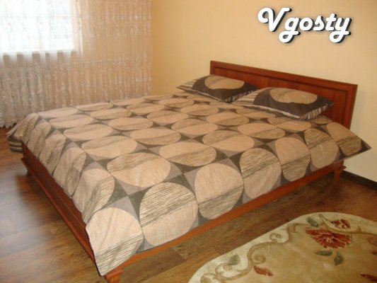 3-room apartment, renovation, Internet, Wi-Fi - Apartments for daily rent from owners - Vgosty