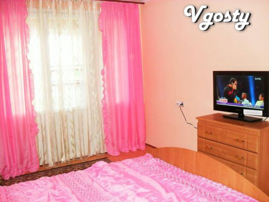 Rent 2 komnatnuyu apartment 60/30/10. Excellent condition, - Apartments for daily rent from owners - Vgosty