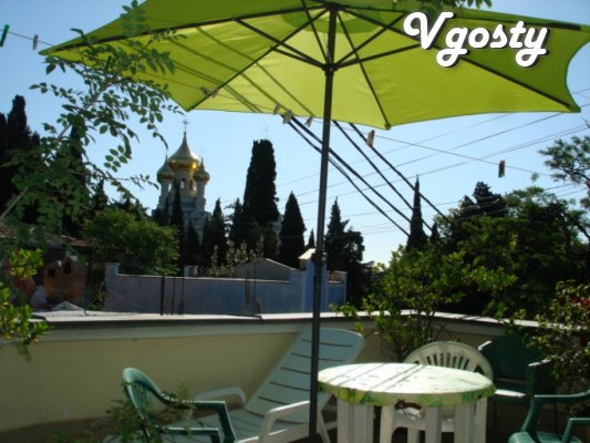 Two-storey house in the center of Yalta yard BBQ - Apartments for daily rent from owners - Vgosty